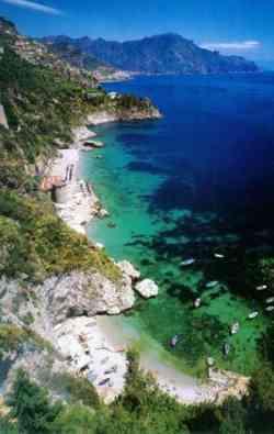 Amalfi - Foto panoramica della Costa