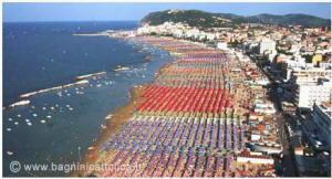 Cattolica la spiaggia