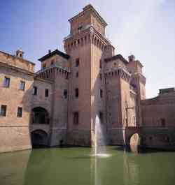 Ferrara Foto del Castello Estense