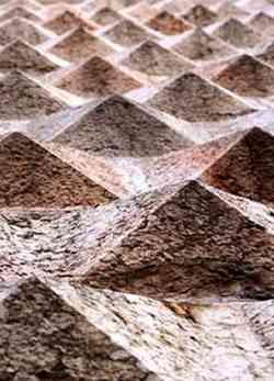 Ferrara Foto ravvicinata del Palazzo dei Diamanti