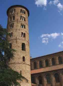 Ravenna - Campanile di Santa Apollinare in Classe