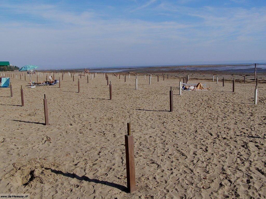 Grado  la spiaggia