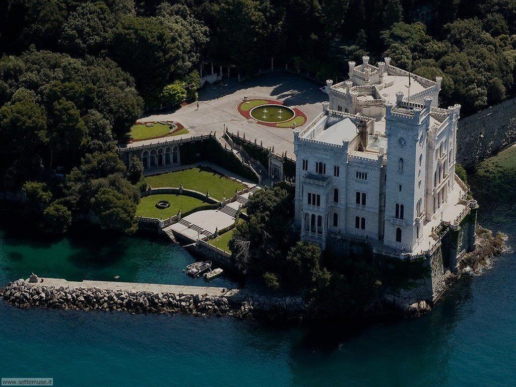 Trieste Castello di Miramare Foto Foto_castello_miramare_101