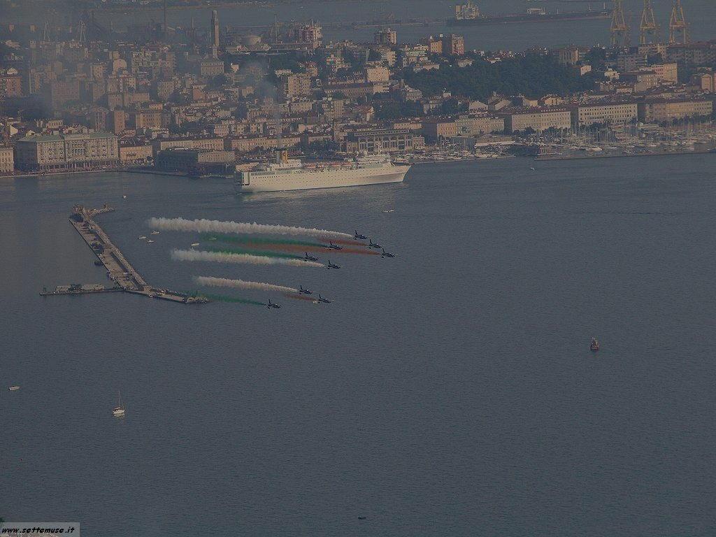 Trieste frecce tricolori