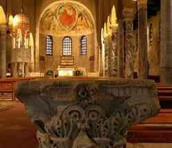Grado - foro interno Chiesa di Sant'Eufemia
