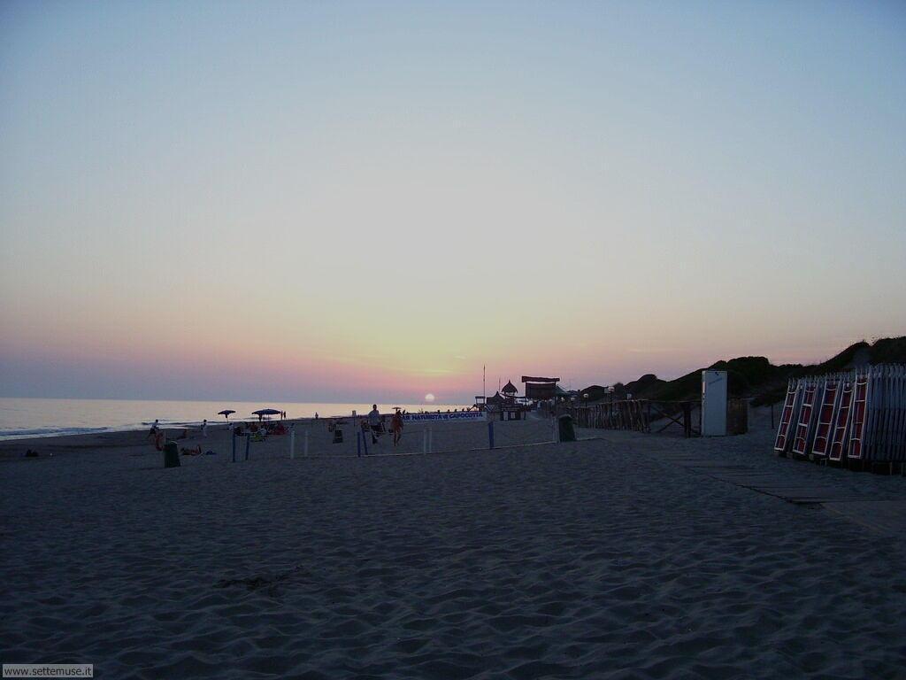 Spiaggia di Castelporziano Tor Paterno Capocotta