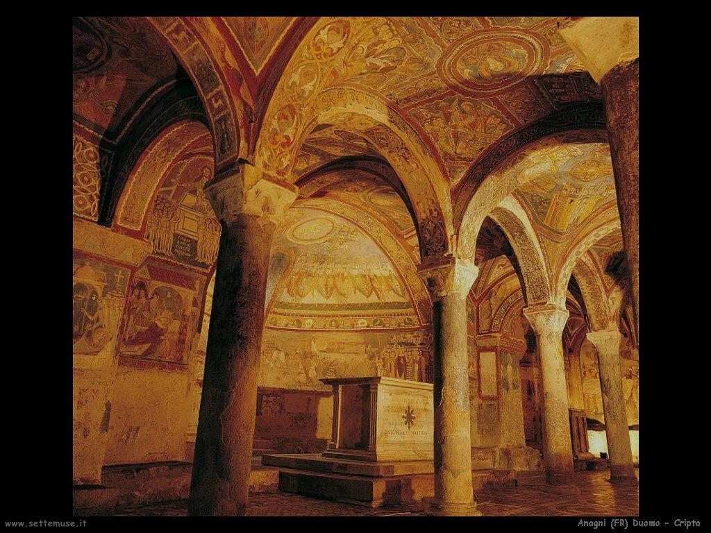anagni cripta