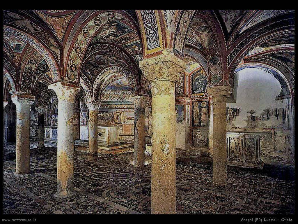 Anagni duomo cripta