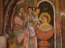Anagni - Foto di una particolare della Cripta