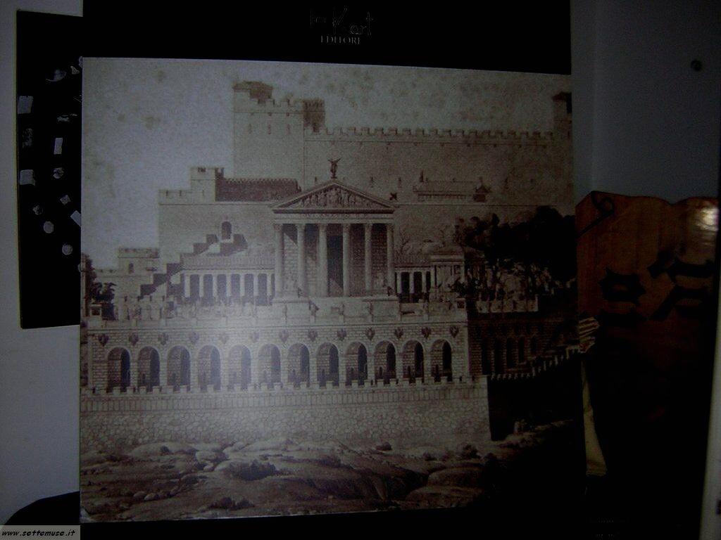 Come era il tempio di Giove