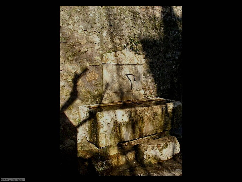 rieti fontana porta conca