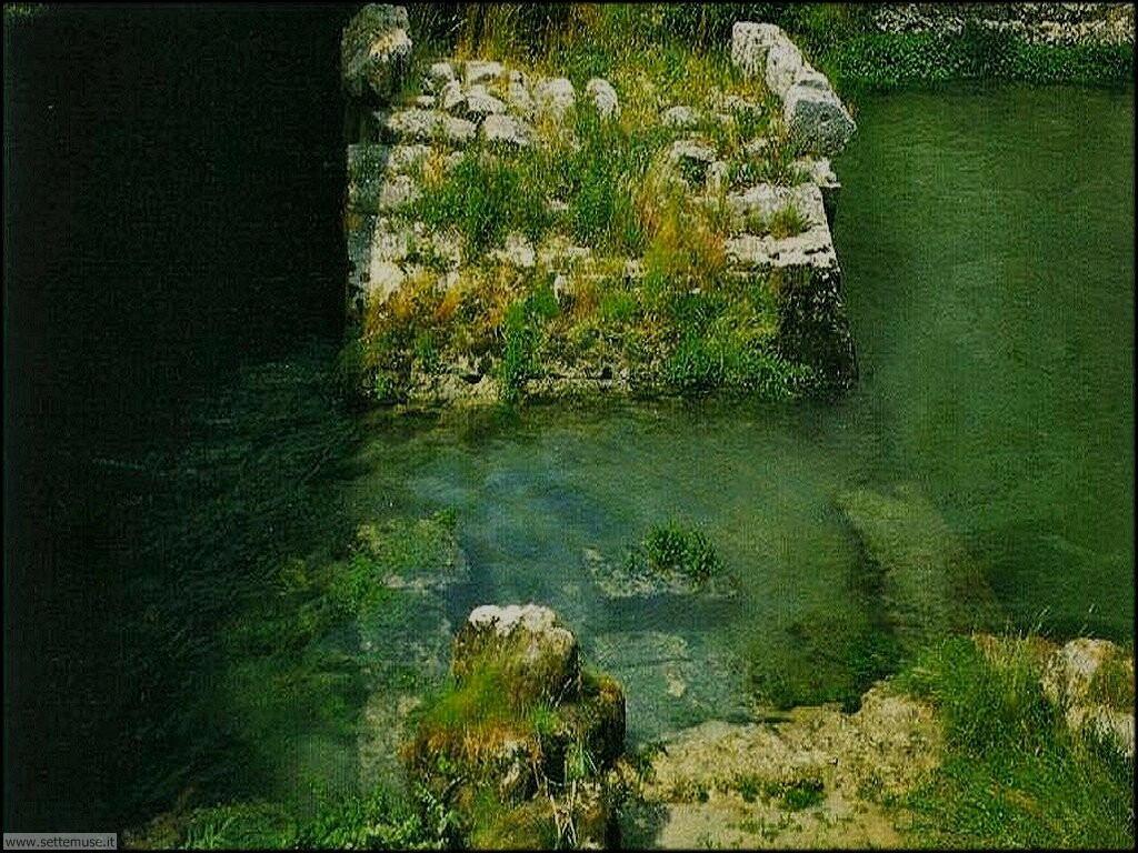 rieti ponte romano ruderi