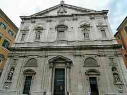 Chiesa di San Luigi dei Francesi - Facciata