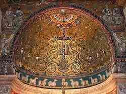 Chiesa di San Clemente - Mosaico dell'Abside