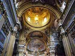 Chiesa del Gesù -  Grandioso interno