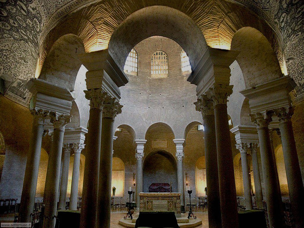 Chiese di roma mausoleo di santa costanza for Interno s