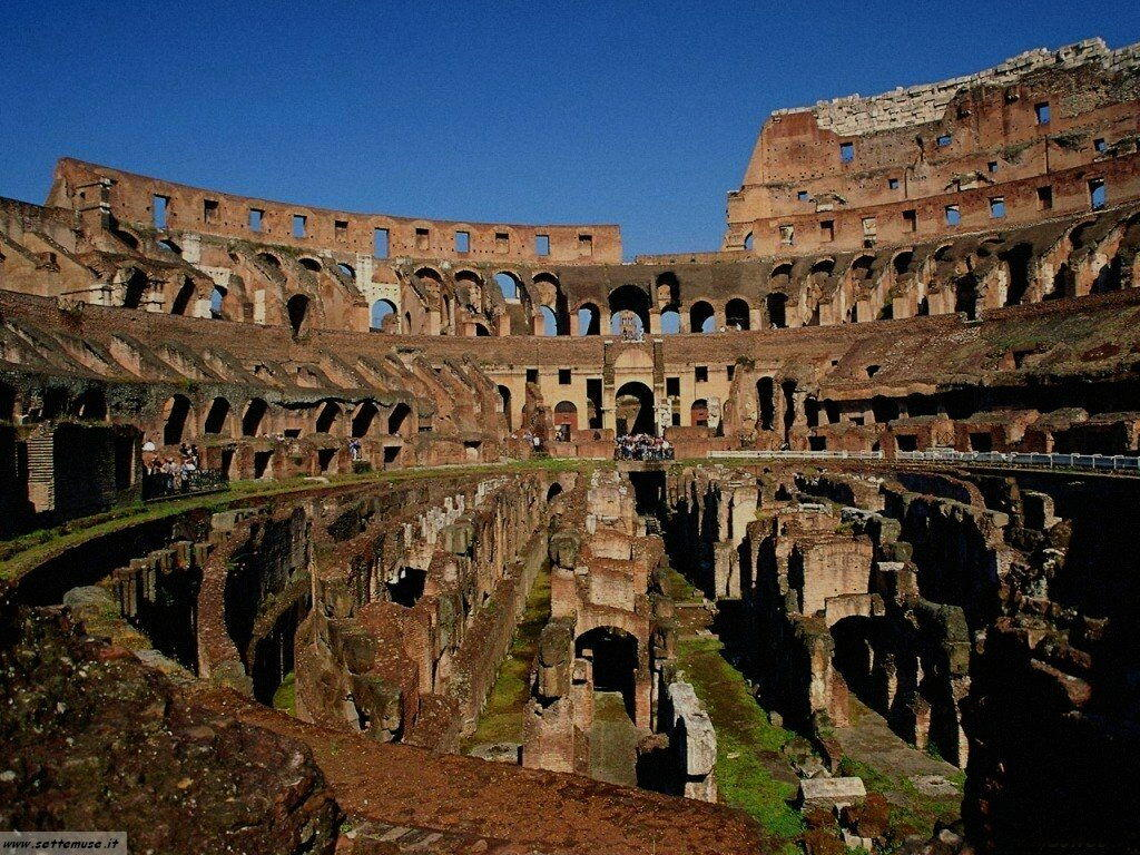 Roma colosseo foto 13