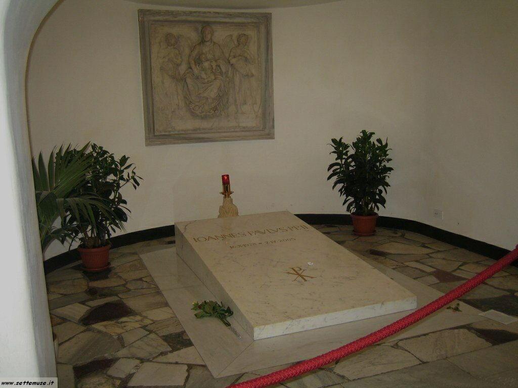 roma tomba giovanni paolo II foto 20