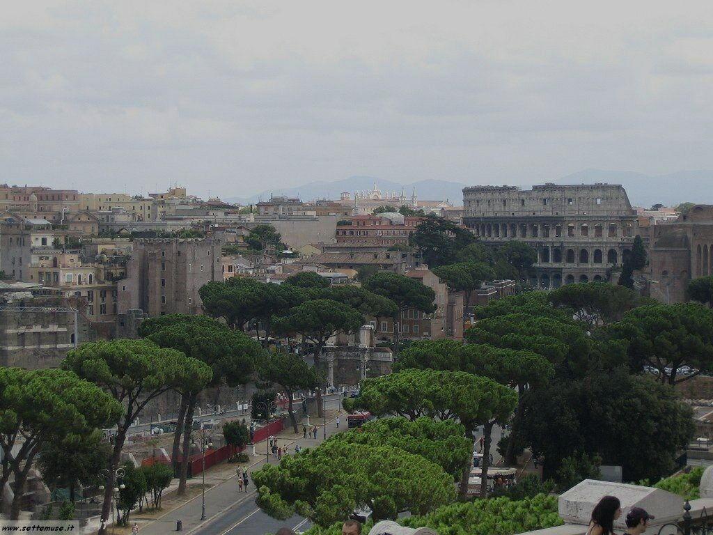 Roma vista della citta foto 22