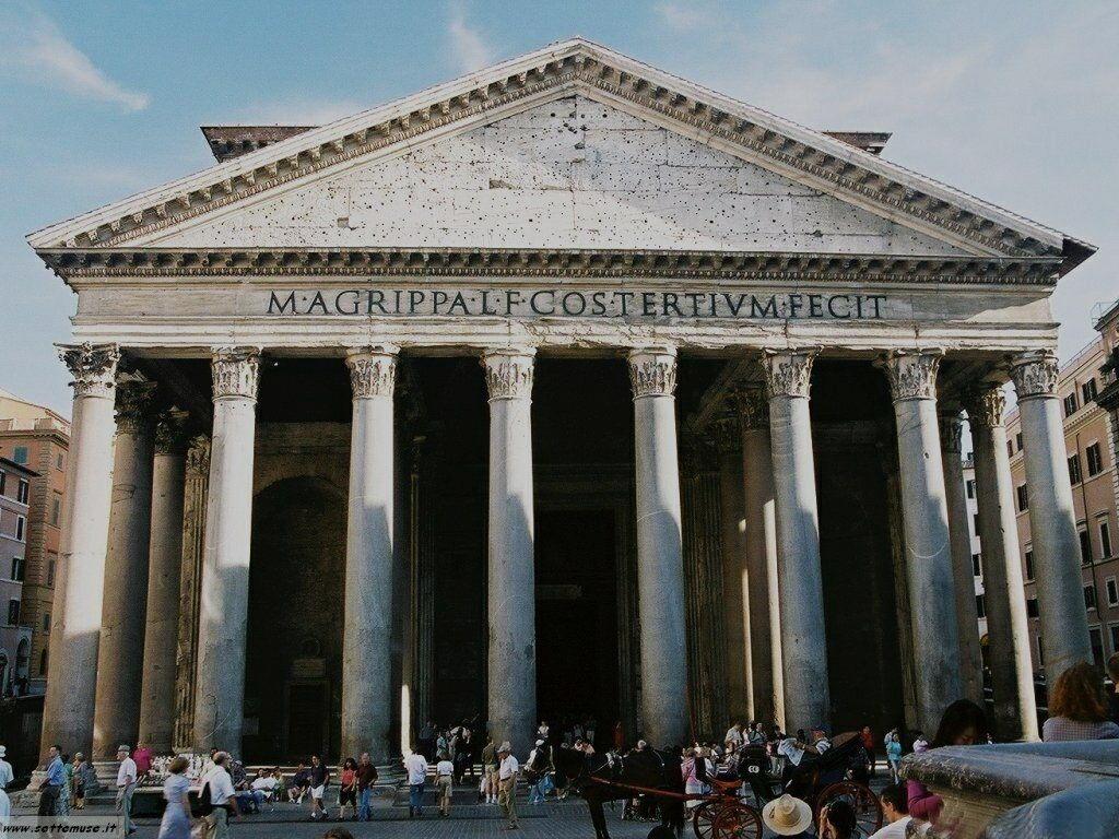 Roma pantheon foto 26