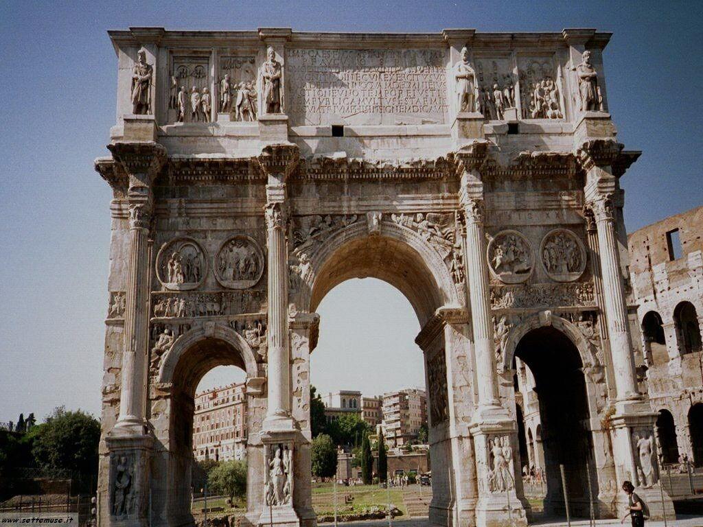 Roma arco costantino foto 27