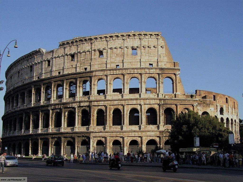 Roma colosseo foto 29