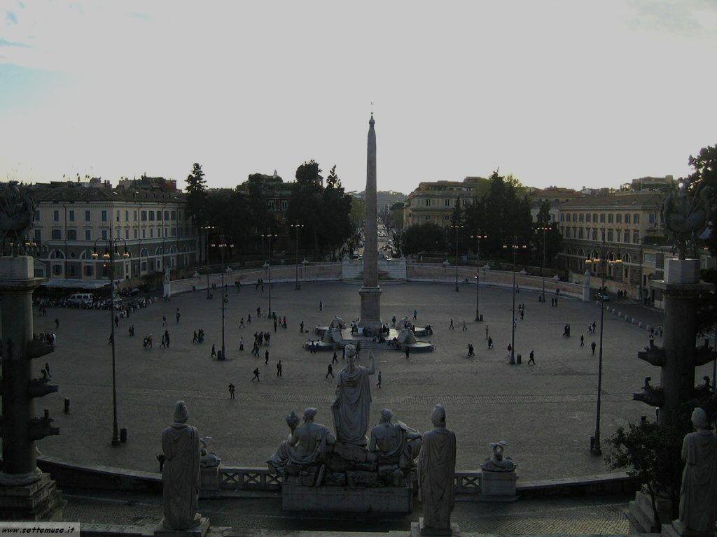 roma piazza del popolo foto 33