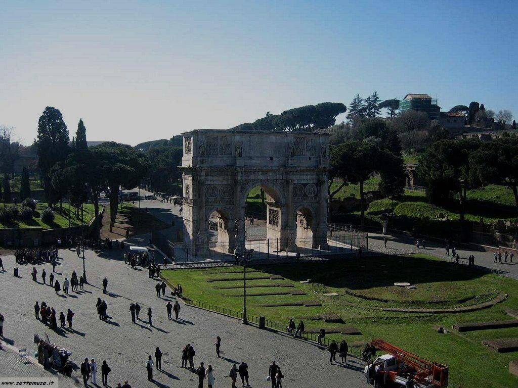Roma arco costantino foto 37