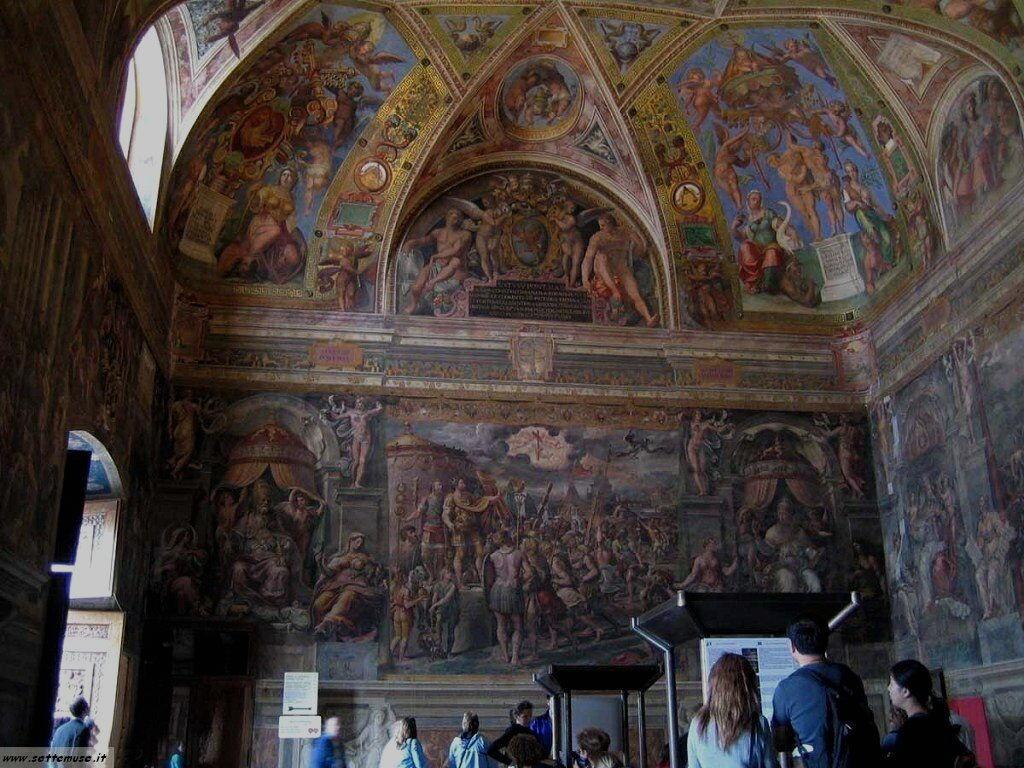 roma stanze raffaello museo vaticano foto 45