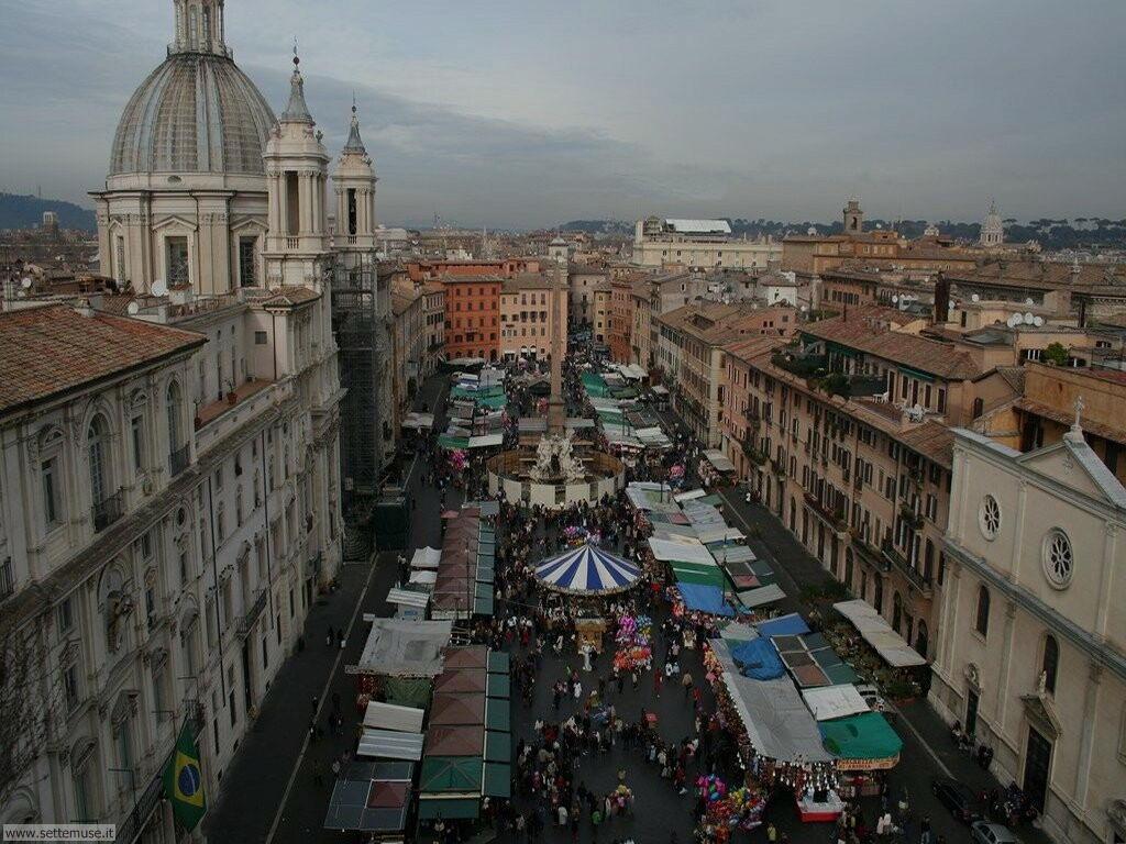 Roma piazza navona dall alto foto 57