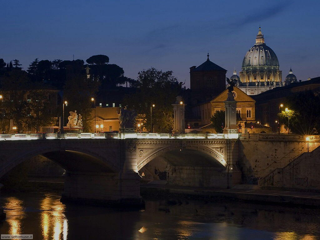 Roma ponte vittorio emanuele II foto 61