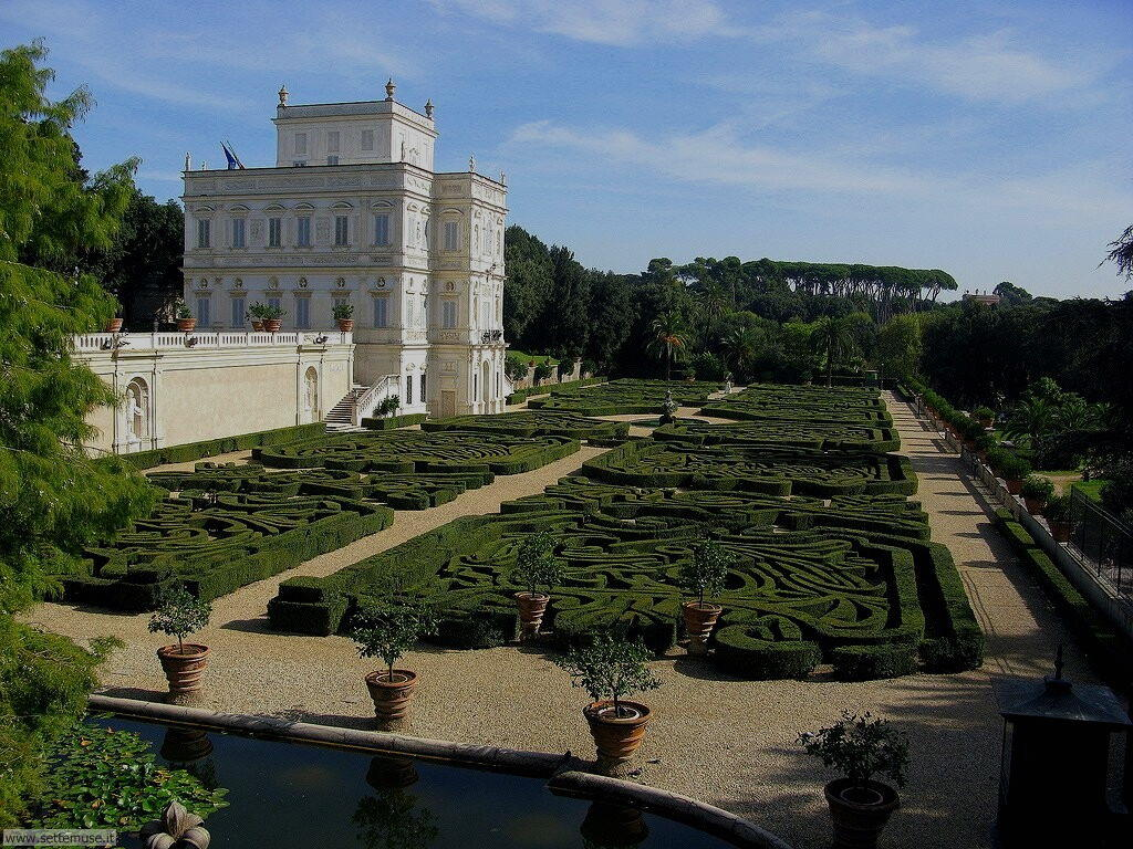Roma villa doria pamphilj foto 65