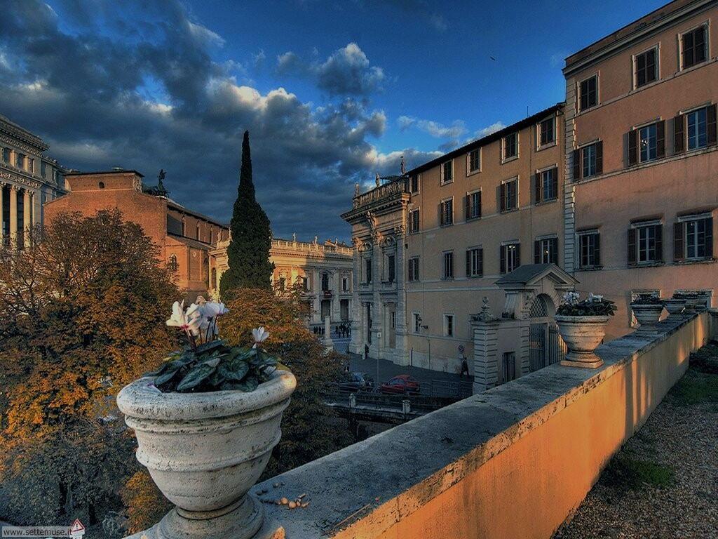 Roma piazza campidoglio foto 67