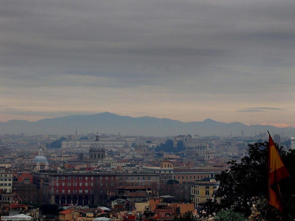 Roma accademia spagnola sul gianicolo foto 70
