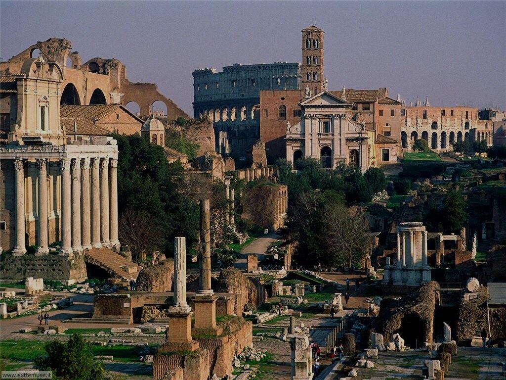 Roma fori romani foto 74