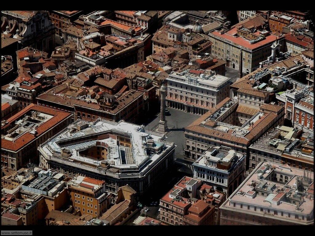 Roma piazza colonna foto 81