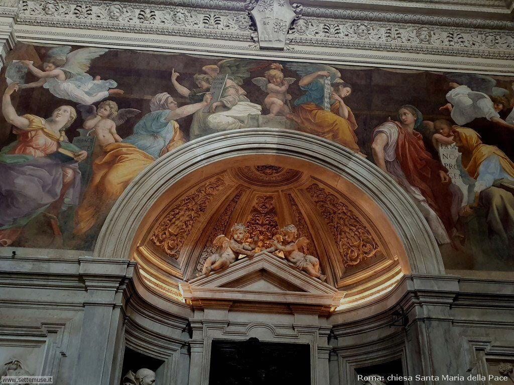 Roma chiesa s maria della pace