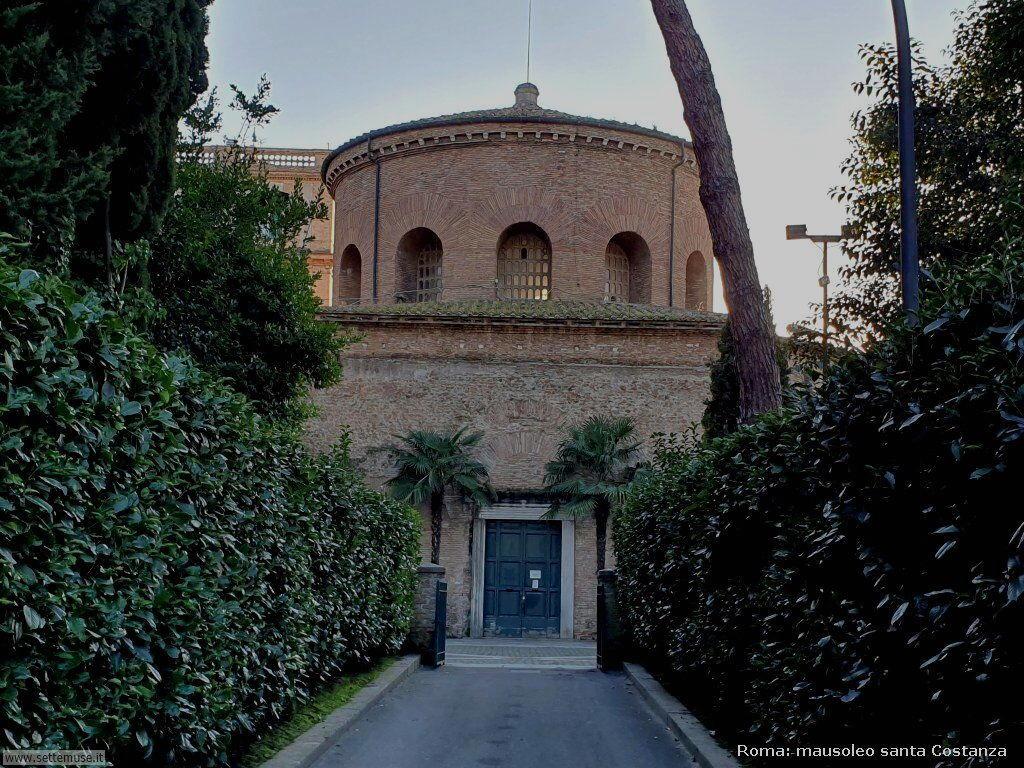 Roma mausoleo santa costanza