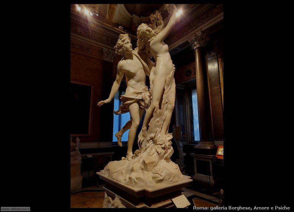 Roma galleria borghese amore e psiche