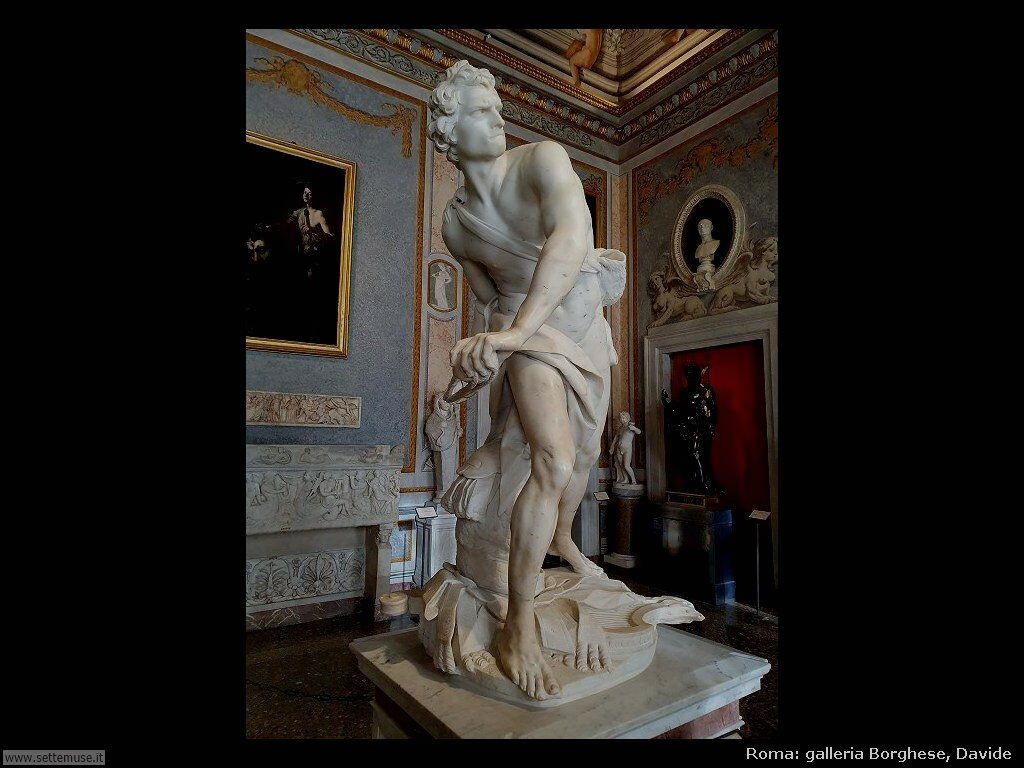 Roma galleria borghese davide