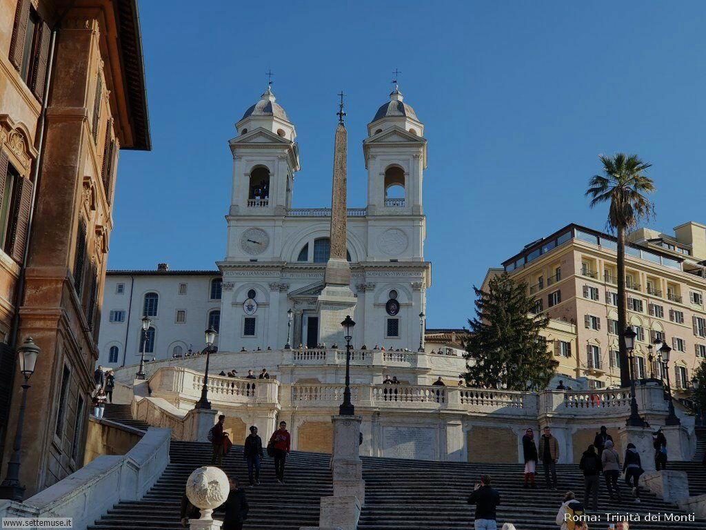 Roma trinita dei monti