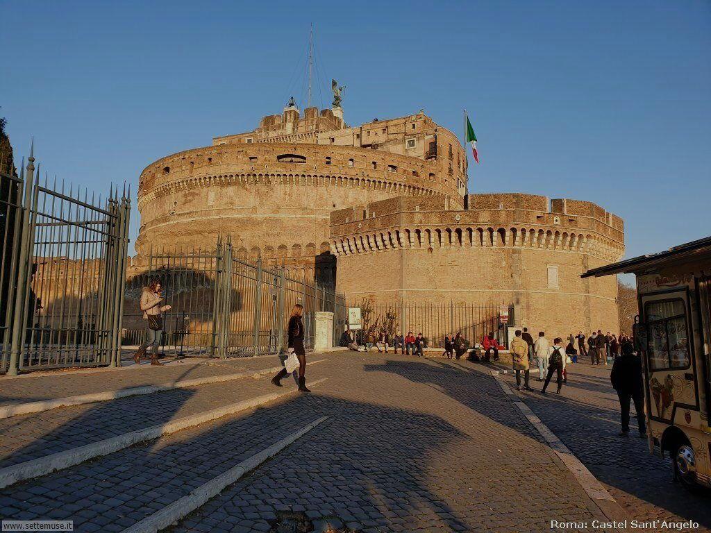 Roma castel sant angelo