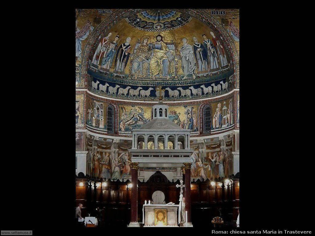 Roma santa maria trastevere