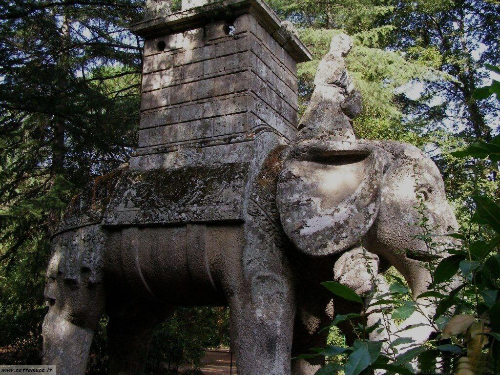 Bomarzo giardino delle statue foto 41