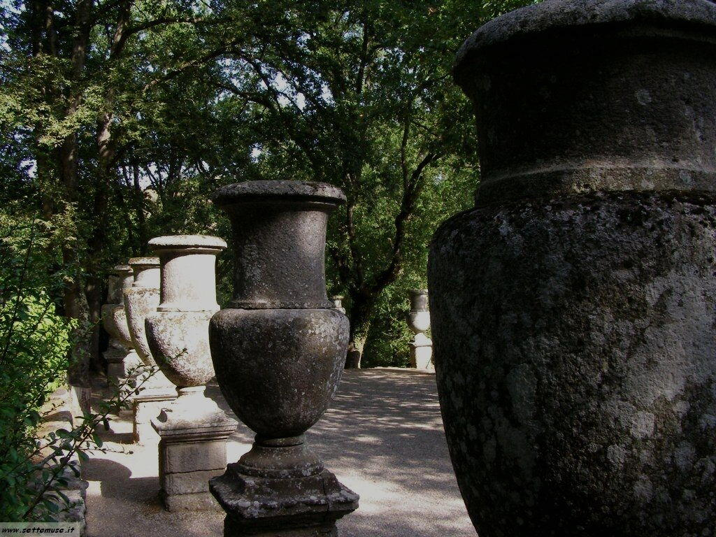 Bomarzo giardino delle statue foto 42