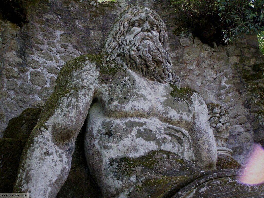 Bomarzo giardino delle statue foto 43