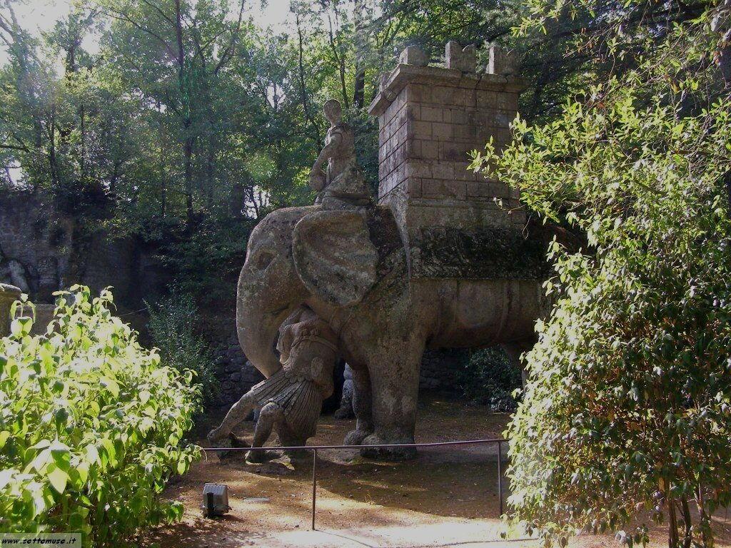 Bomarzo giardino delle statue foto 48