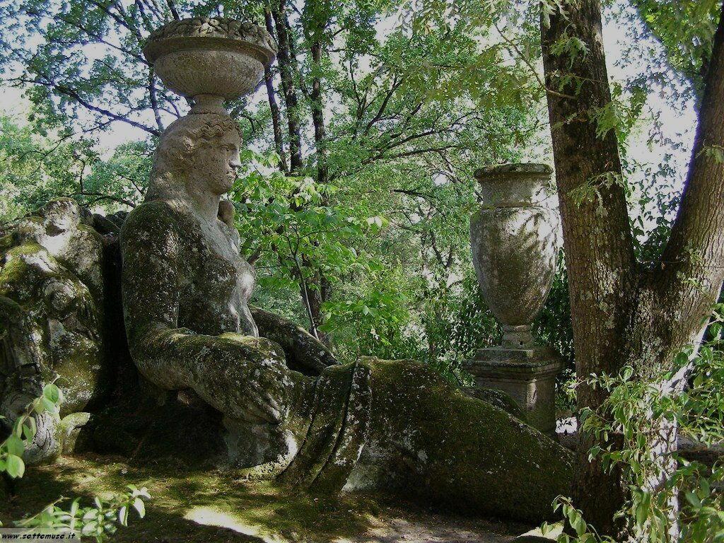 Bomarzo giardino delle statue foto 49