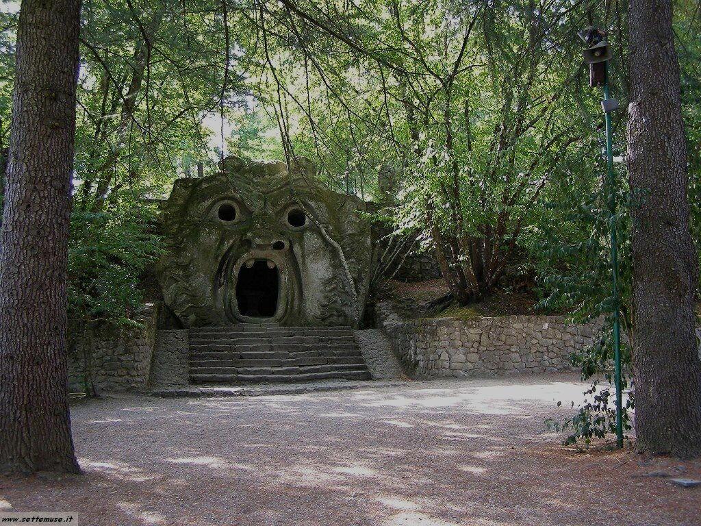 Bomarzo giardino delle statue foto 50