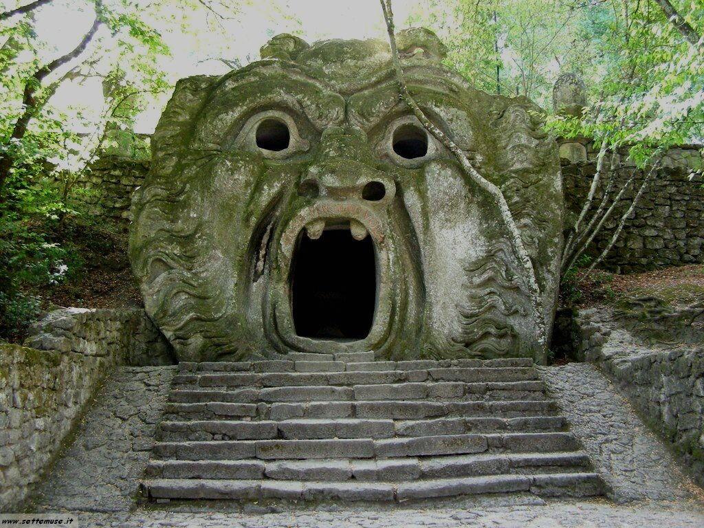Bomarzo giardino delle statue foto 51